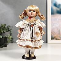 Кукла коллекционная керамика 'Соня в сарафанчике' 30 см