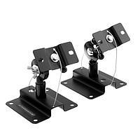 Кронштейн Ultramounts UM502, для аудио-видео аппаратуры, наклонно-поворотный.до 15 кг,чёрный