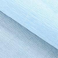 Бумага гофрированная, 959 'Нежно-голубая', 0,5 х 2,5 м