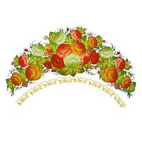 Термонаклейка 'Жостовские цветы', набор 10 шт.