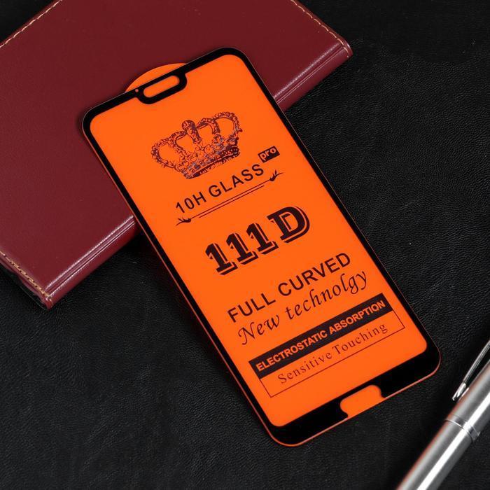Защитное стекло Red Line для Huawei Honor 10, Full Screen, полный клей, черное - фото 1