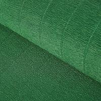 Бумага гофрированная, 561 'Тёмно-зелёная', 0,5 х 2,5 м