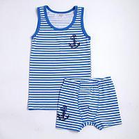 Комплект для мальчика, цвет голубой, рост 140 см