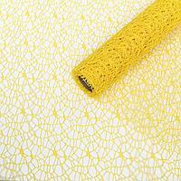 Сетка 'Крошет' желтый, 50 см х 4,5 м К11