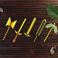 Набор деревянных сувениров 'Золотое оружие'