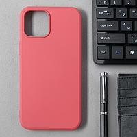Чехол Activ Full Original Design, для Apple iPhone 12 Pro Max, силиконовый, бордовый