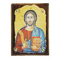 Икона 'Господь Вседержитель' на подвесе