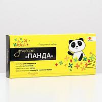 Подарочный набор детский 'Панда' фитосбор и травы для купания, для иммунитета и при дефиците витаминов