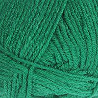 Пряжа 'Merino de luxe 50' 49 шерсть, 51 акрил 280м/100г (338 зеленый)