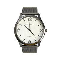 Часы наручные женские GENEVA, d4.1 см, ремешок металл 22.5 см
