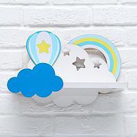 Полка детская 'Воздушный шар'