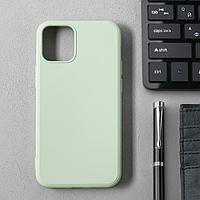 Чехол Activ Full Original Design, для Apple iPhone 12 mini, силиконовый, светло-зелёный
