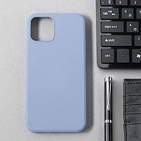 Чехол Activ Full Original Design, для Apple iPhone 12/12 Pro, силиконовый, серый