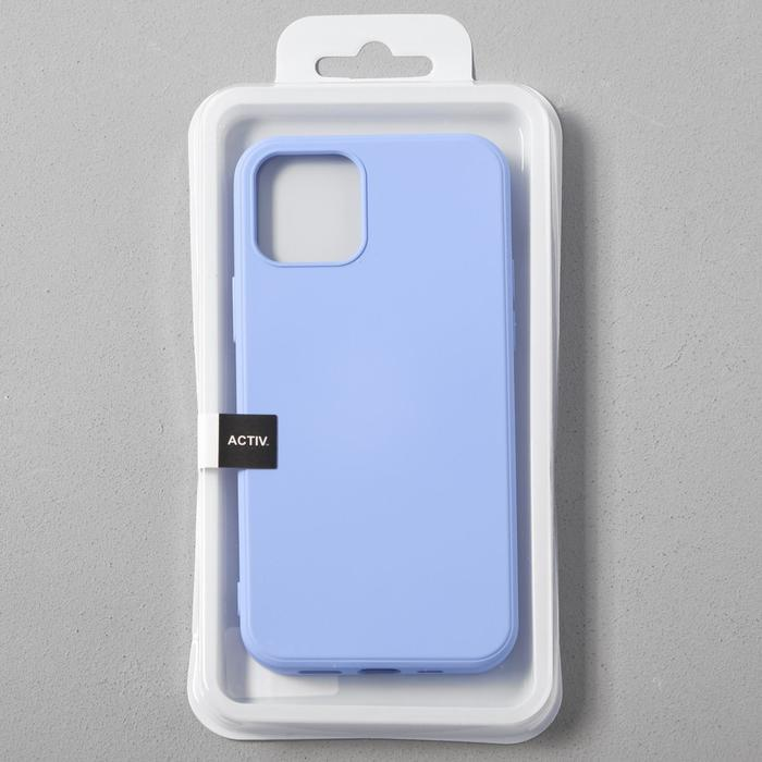 Чехол Activ Full Original Design, для Apple iPhone 12/12 Pro, силиконовый, светло-фиолетовый - фото 4