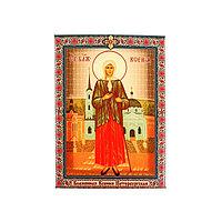 Икона холст 'Блаженная Ксения Петербургская' на подвесе