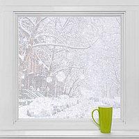 Витражная плёнка 'Конфетти', 45x200 см, цвет прозрачный