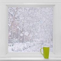 Витражная плёнка 'Галька', 45x200 см, цвет прозрачный