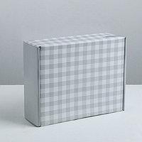 Складная коробка 'Включайся', 27 x 9 x 21 см