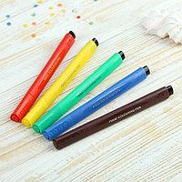 Набор маркеров для украшения десертов, 21x12x1,5 см, 5 шт, разноцветные