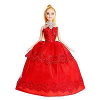 Кукла-модель шарнирная 'Виктория' в пышном платье, МИКС