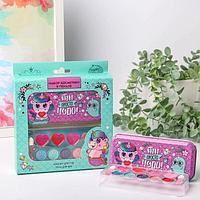 Подарочный набор детских теней и блесков для губ 'Ты просто чудо!'