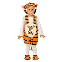 Детский карнавальный костюм 'Тигруля', плюш, размер 26, рост 104 см