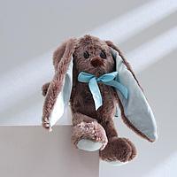 Мягкая игрушка брелок 'Малыш Lu', зайка