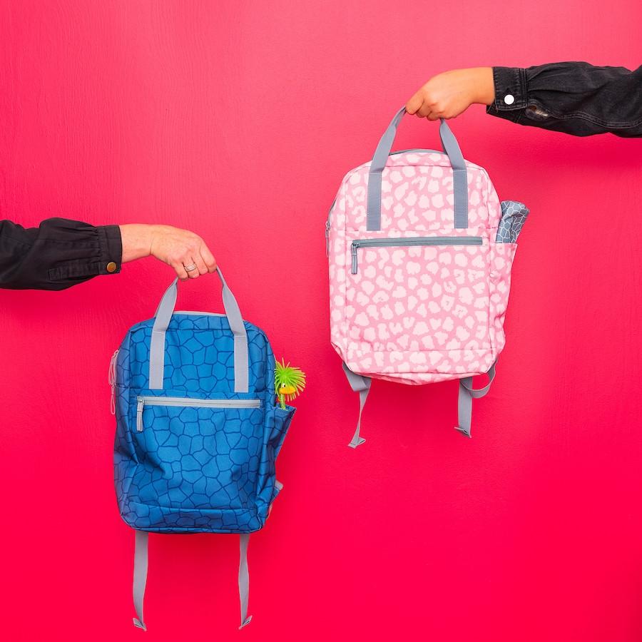 Рюкзак, с рисунком/розовый 12 л