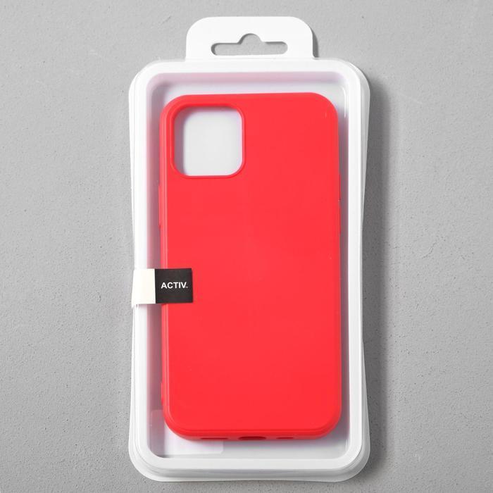 Чехол Activ Full Original Design, для Apple iPhone 12/12 Pro, силиконовый, красный - фото 4