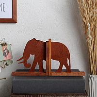 Держатель для книг 'Слон', набор 2 шт