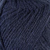 Пряжа 'Alpaca royal' 30 альпака, 15 шерсть, 55 акрил 250м/100гр (58 темно-синий)