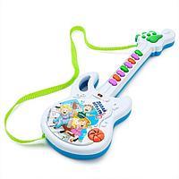 Игрушка музыкальная гитара 'Давай играть', звуковые эффекты, работает от батареек