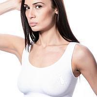 Топ женский TOP CLASSIC цвет белый (bianco), размер 42-46 (S-M)