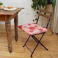 Сидушка на стул Этель 'Арбузы' 42х42см, репс,пл.130 г/м, 100 хлопок