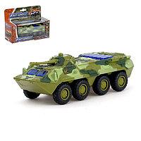 Машина металлическая 'Военная', масштаб 154, свет и звук, инерция
