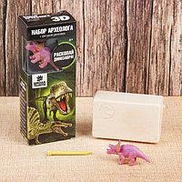 Набор археолога серия с фигуркой-игрушкой динозавра 'Трицератопс'