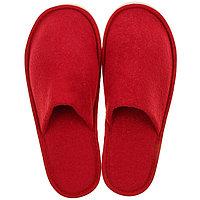 Тапочки мужские, цвет бордовый, размер 42-45