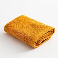 Полотенце махровое Экономь и Я 50х80 см, цв. горчичный, 100 хл, 260 гр/м2