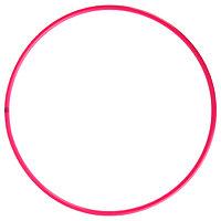 Обруч профессиональный для художественной гимнастики, дуга 18 мм, d60 см, цвет малиновый