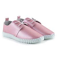 Кеды женские, цвет розовый, размер 37