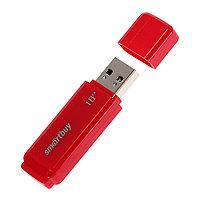 Флешка Smartbuy Dock, 16 Гб, USB2.0, чт до 25 Мб/с, зап до 15 Мб/с, красная