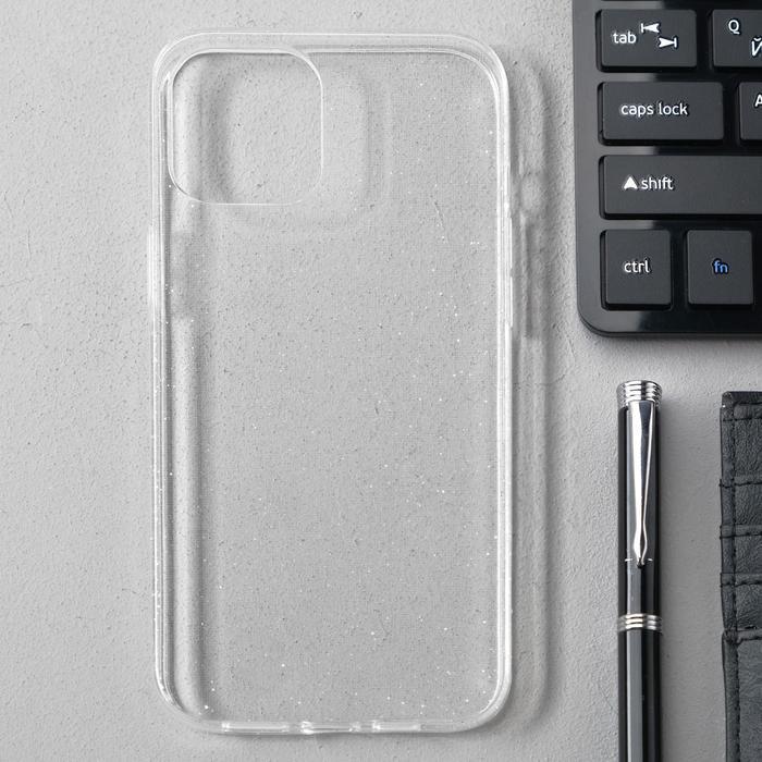 Чехол Activ SC123, для Apple iPhone 12 Pro Max, силиконовый, белый - фото 1