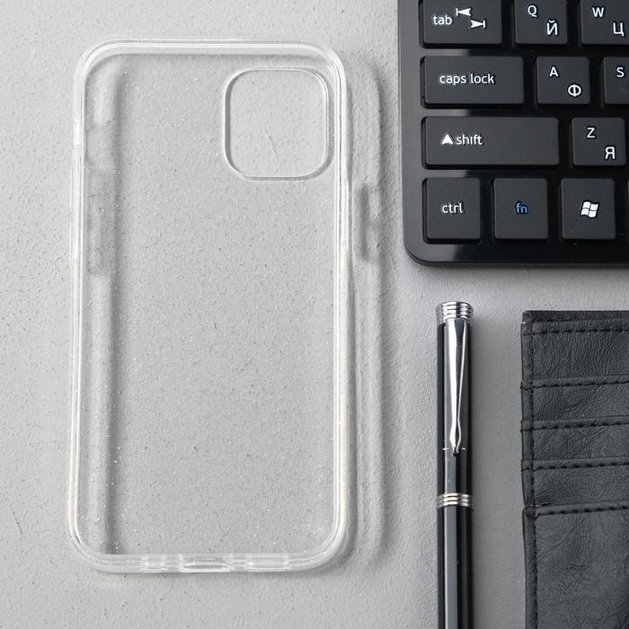 Чехол Activ SC123, для Apple iPhone 12 mini, силиконовый, белый - фото 2