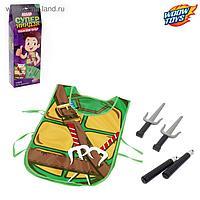Игровой набор для мальчиков 'Ниндзя' жилетка, нунчаки, клинки
