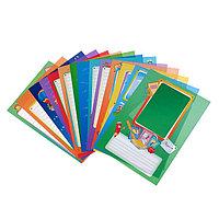 Набор вкладышей для портфолио 'Весёлые карандаши', для учеников начальных классов, А4, 16 листов