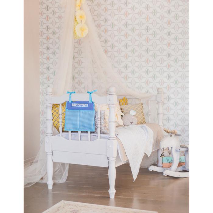 Кармашки на детскую кроватку 'Ты самое главное в жизни. Сладкий малыш', 2 отделения - фото 8