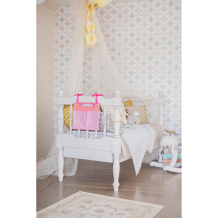 Кармашки на детскую кроватку 'Лучшая доченька', 2 отделения - фото 7