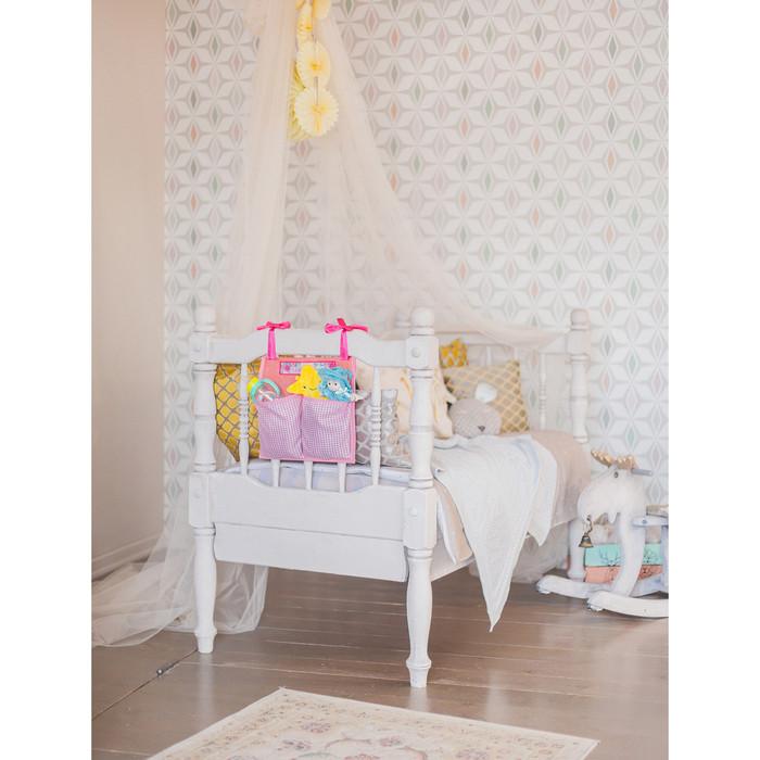 Кармашки на детскую кроватку 'Лучшая доченька', 2 отделения - фото 9