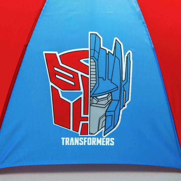 Зонт детский 'TRANSFORMERS', Трансформеры, 8 спиц d70см - фото 3