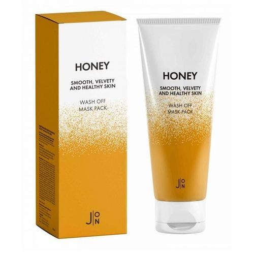 Маска для лица Honey Smooth Velvety and Healthy Skin Wash Off Mask Pack, 50 гр